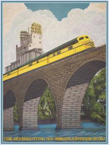 2014 Stone Arch Bridge Festival Poster Now Available
